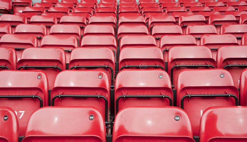 Download Repetitive Pattern Of Football Stadium Seating Stock Photo - Image: 20965488