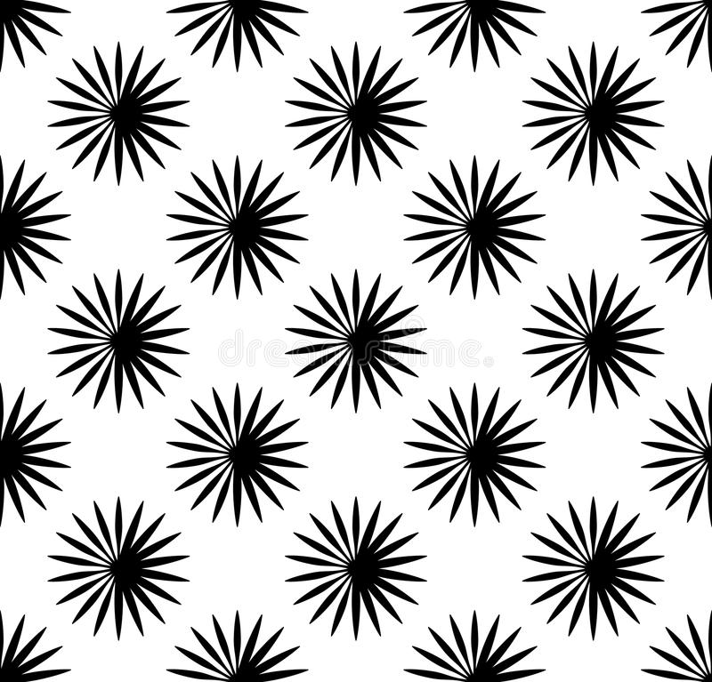 Repetitive pattern with radial-radiating lines. Abstract geometr vector illustration