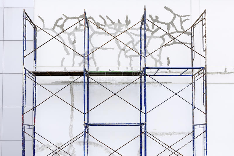 repiar的可折叠混凝土墙 库存图片