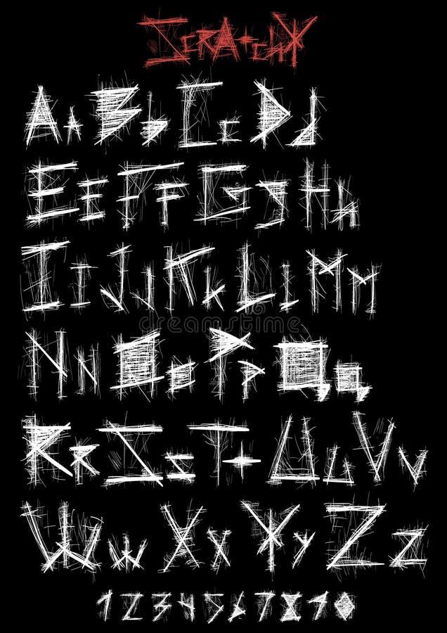 Repig stilsort vektor illustrationer