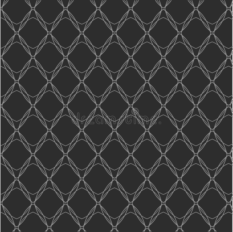 Repita o fundo abstrato geométrico preto e branco fotos de stock