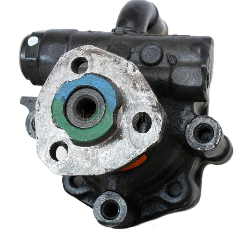 A Replacement Automotive Power Steering Pump royalty free stock photo