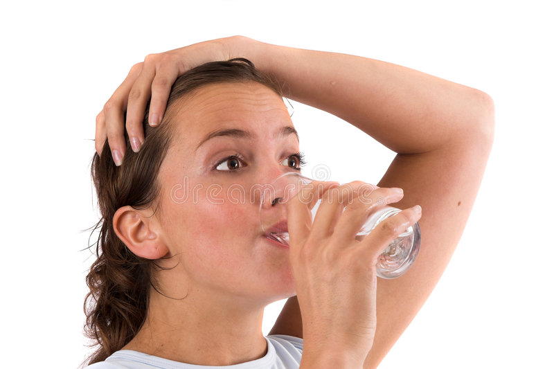 Download Replenishing Fluids After The Workout Stock Image - Image: 1401209