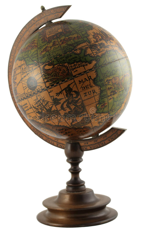 Download Replica Of Antique Representation Of The Globe Wit Stock Image - Image: 25667627