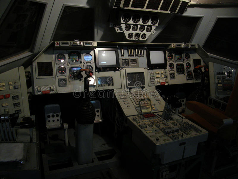 Replica Of A Cockpit Of Soviet Space Shuttle Editorial