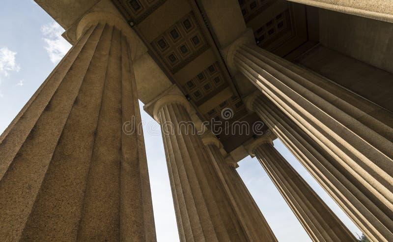 Replica del Partenone fotografia stock libera da diritti
