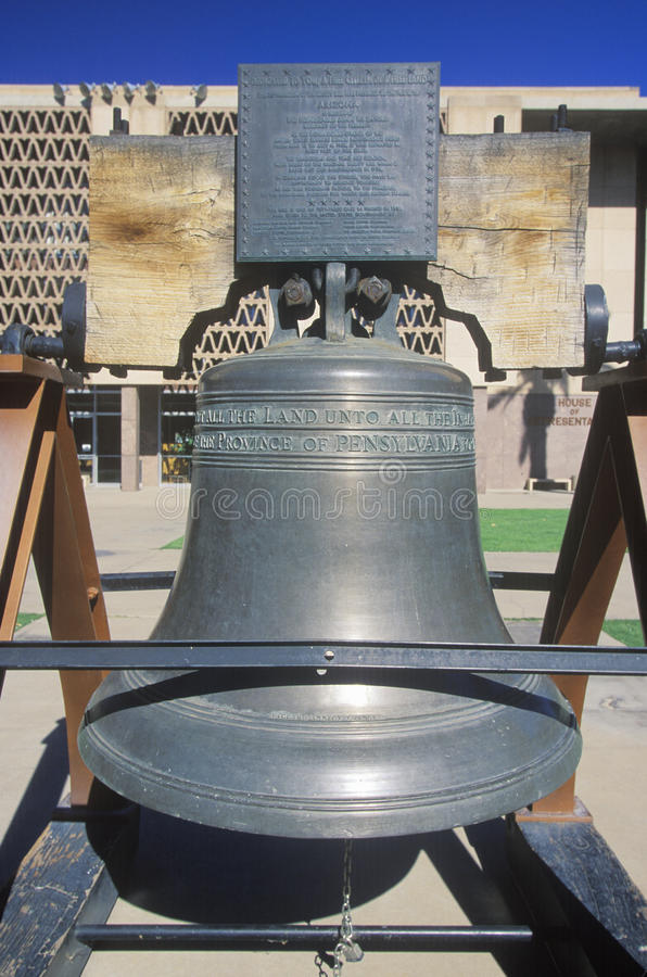 Download Replica of Liberty Bell stock photo. Image of history - 26892334