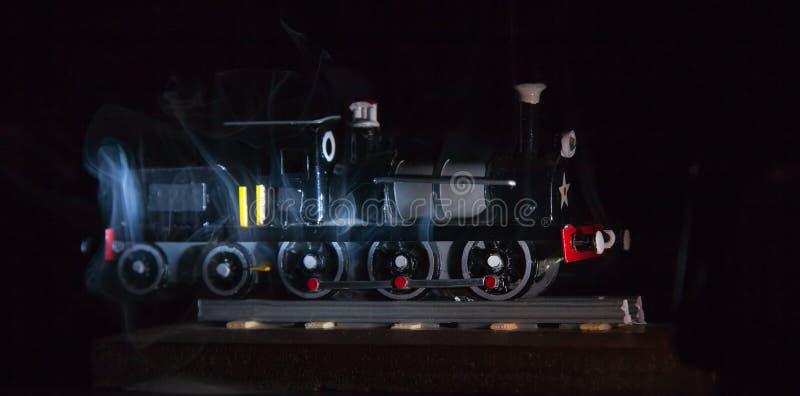 Replica Trains stock photo