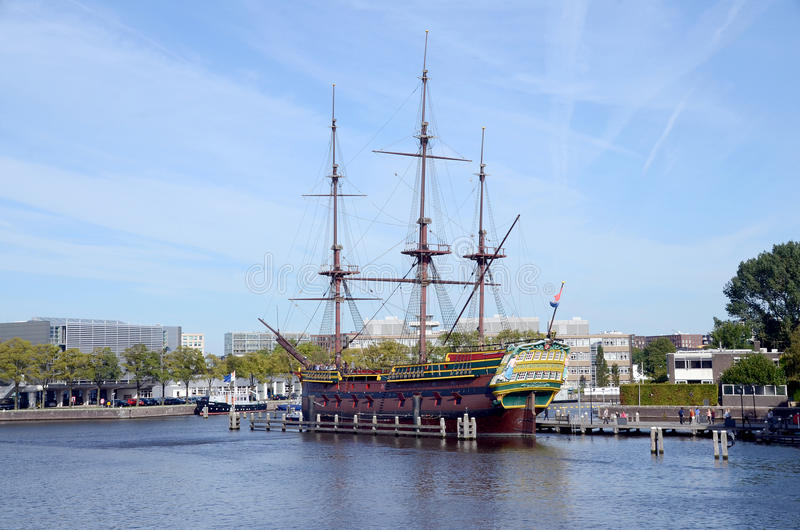 Replica van Amsterdam stock foto's