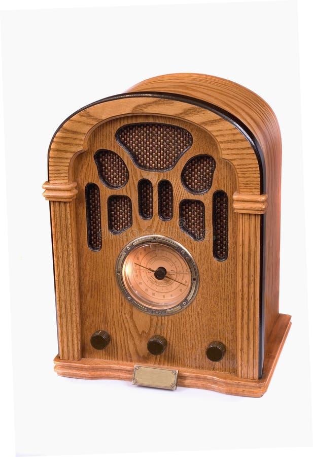 Replica van de radio van 1940 stock afbeelding