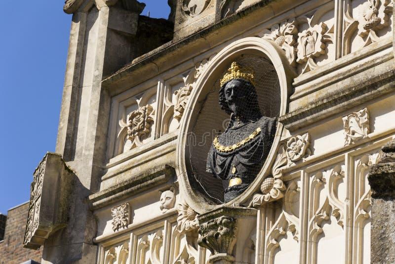 Replicamislukking van Charles I op het Kruis van de de stadsmarkt van Chichester royalty-vrije stock fotografie