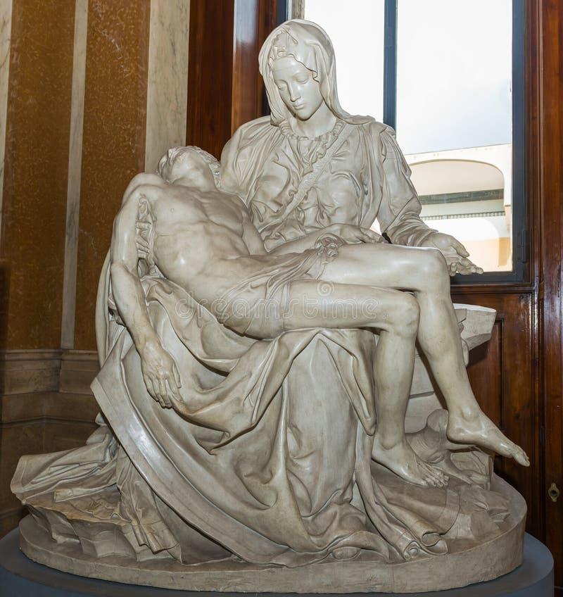 Replik des Pieta in Vatikan-Museum lizenzfreie stockbilder