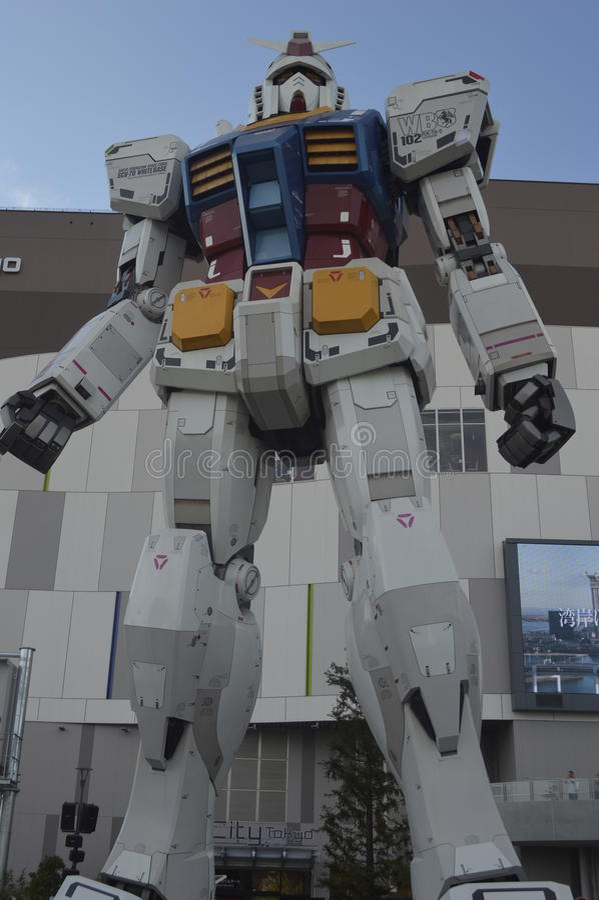 Replik Gundam RX-78 lizenzfreie stockbilder