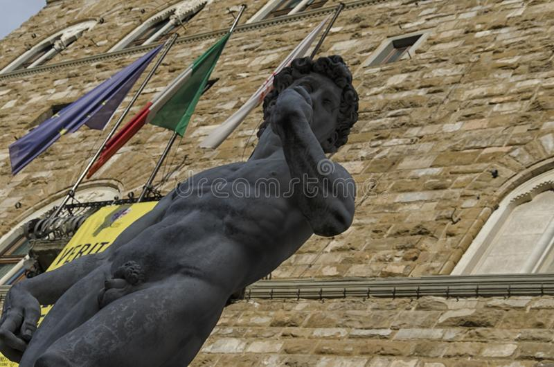 Replika David Michelangelo zdjęcie royalty free