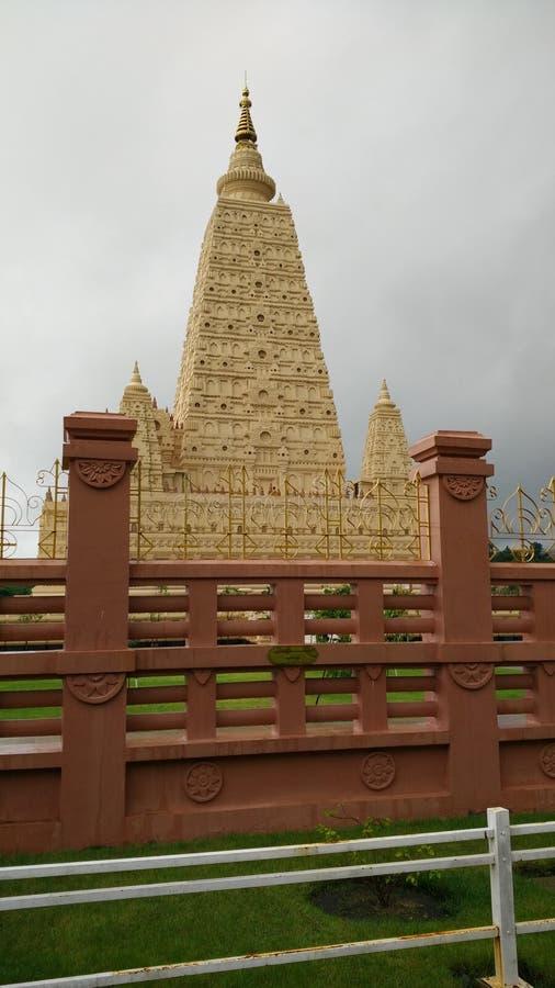 Replika pagoda od India w Myanmar fotografia royalty free