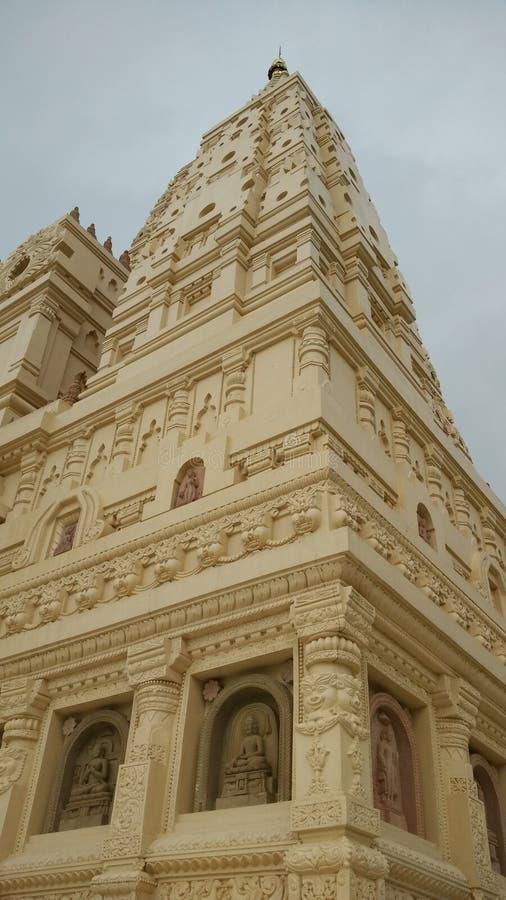 Replika pagoda od India w Myanmar zdjęcie stock