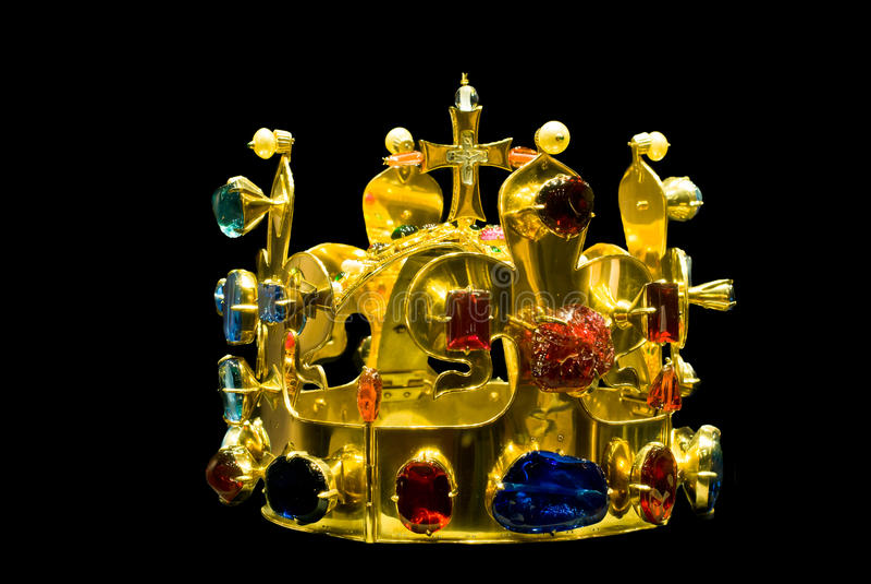 Replika Wenceslaus' Świątobliwa korona obraz stock