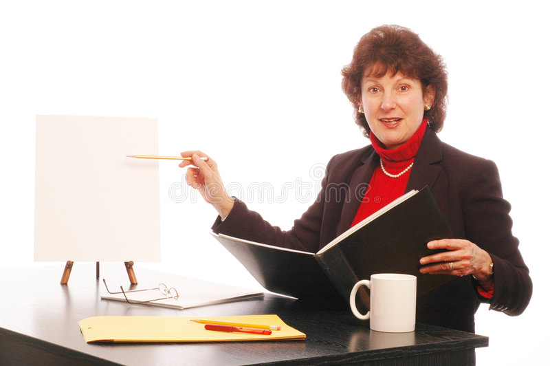 Report 509. Report in office copy space model released 509 stock image