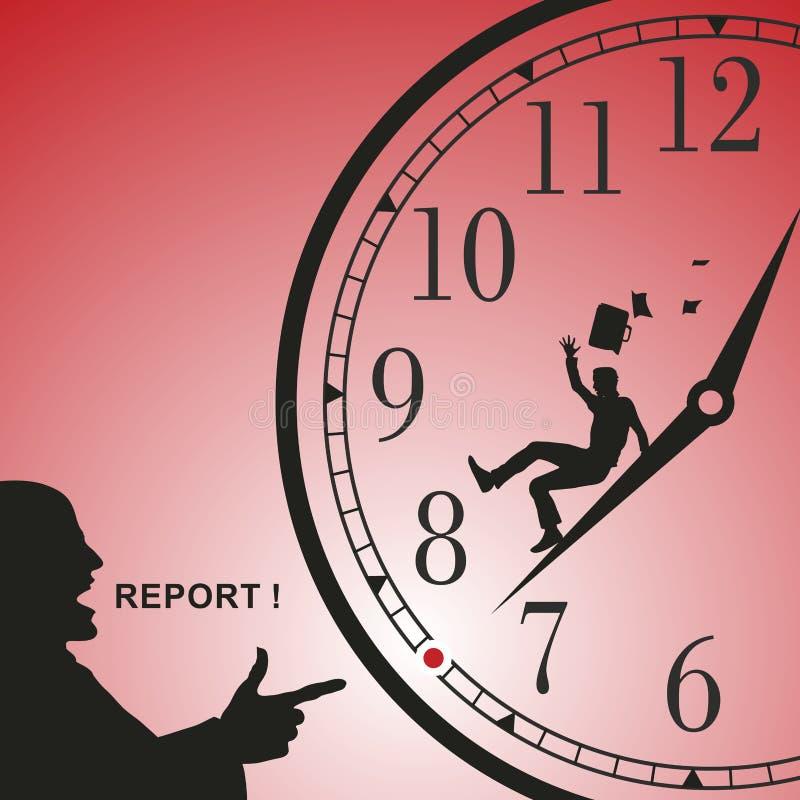 Report. In business, it is important deadlines. Vector format