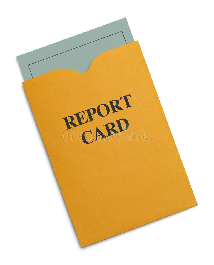 Free Report Card Stock Photography - 45353042