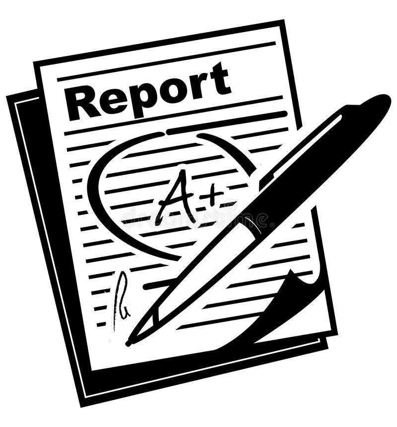 Report Card  Icon Stock Vector Illustration Of Rating