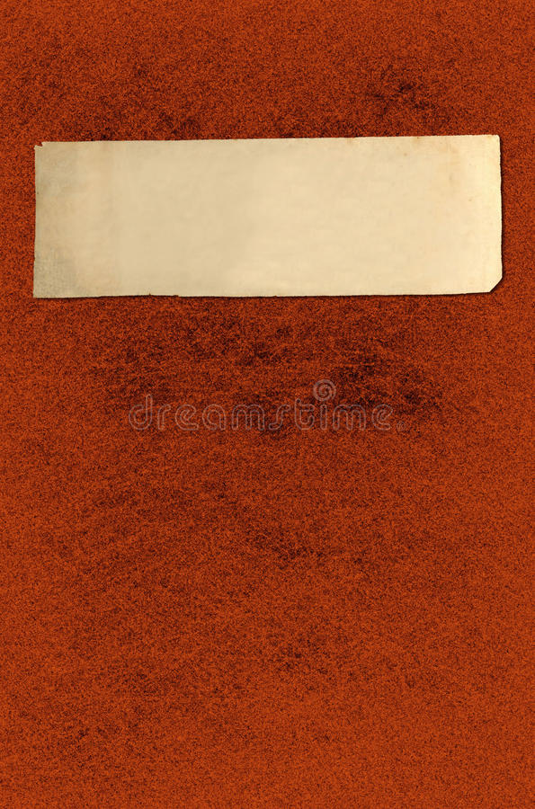 Report Cover. This is a vintage report cover on a grunge texture background royalty free illustration