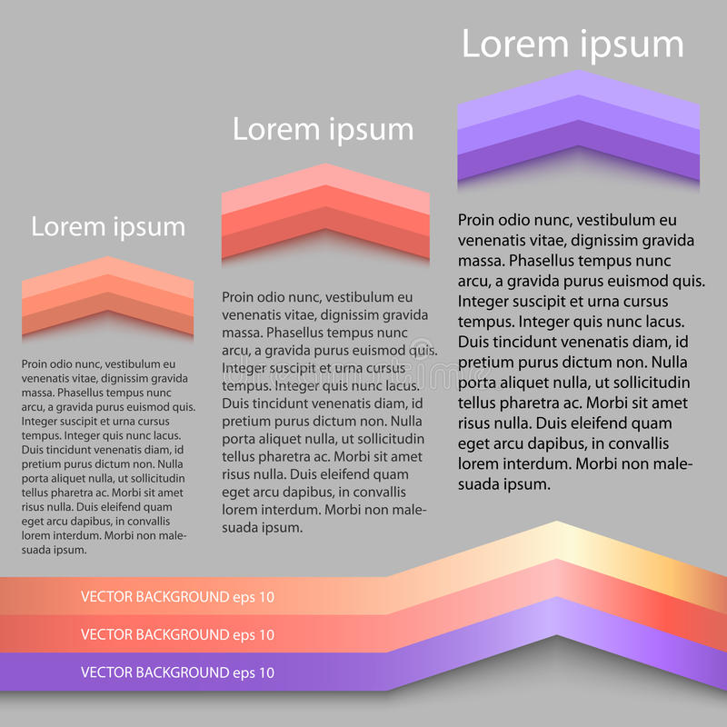 Report template graphics performance layout page background vector illustration