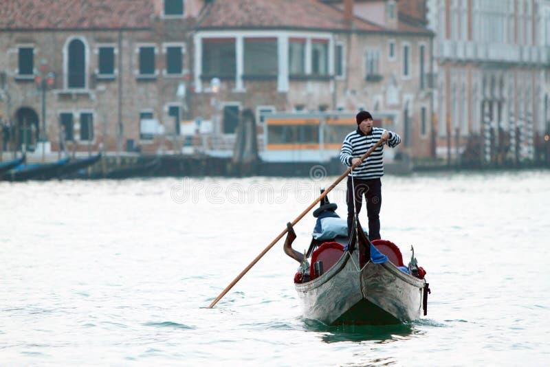 Wodny transport w Wenecja zdjęcia stock