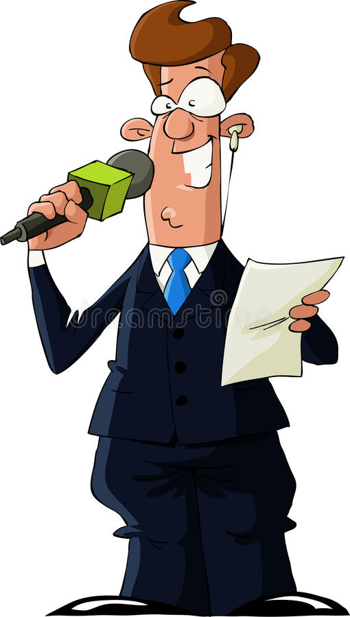 reporter ilustracji