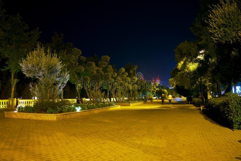 Repos à Bakou photographie stock