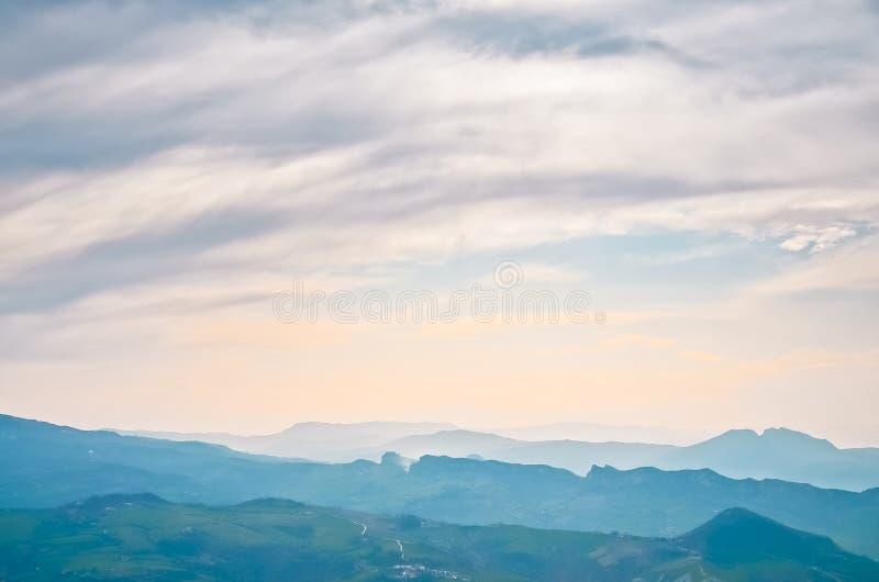 Reppublic San Marino royaltyfri foto