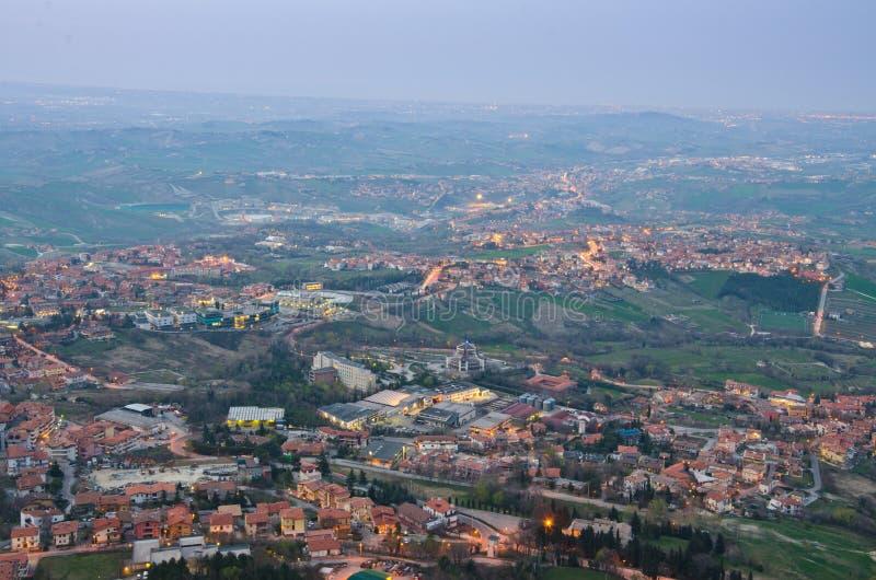 Reppublic San Marino arkivfoton
