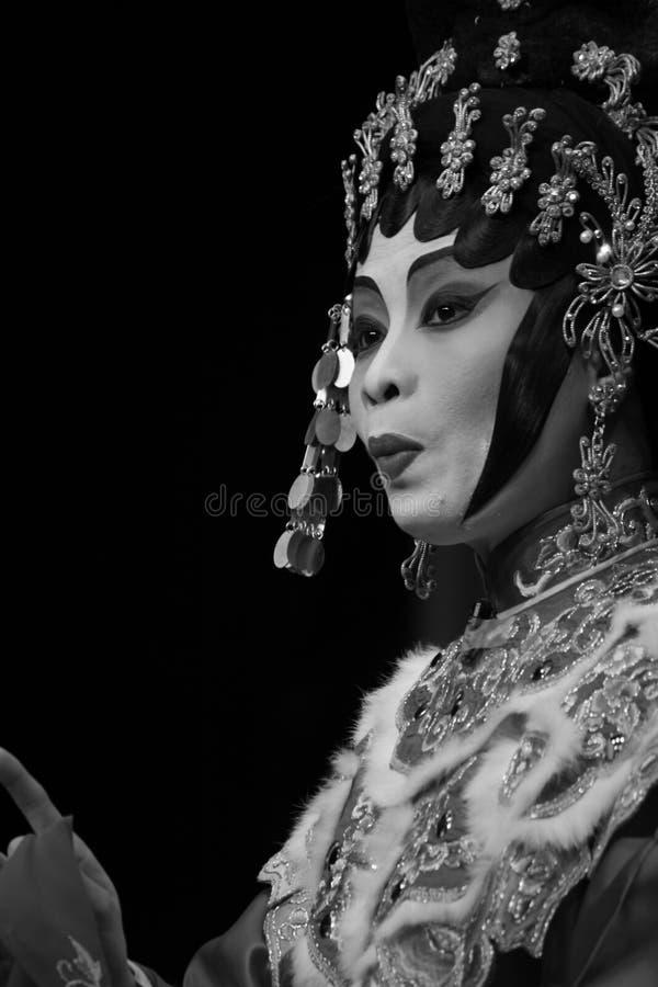 Représentation chinoise d'opéra photographie stock libre de droits