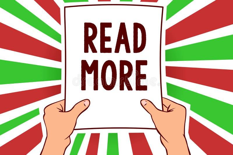 Représentation de note d'écriture lue la suite La présentation de photo d'affaires fournissent plus d'heure ou de lecture complèt illustration libre de droits