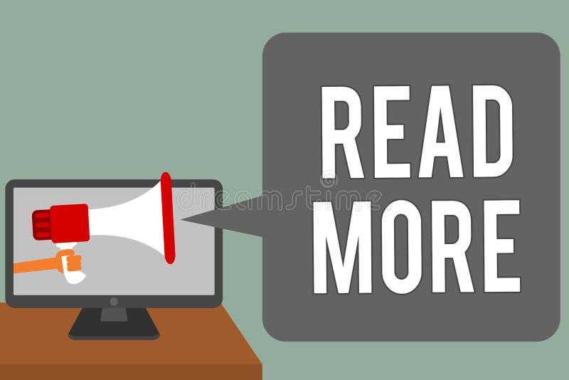 Représentation de note d'écriture lue la suite La présentation de photo d'affaires fournissent plus d'heure ou de lecture complèt illustration stock