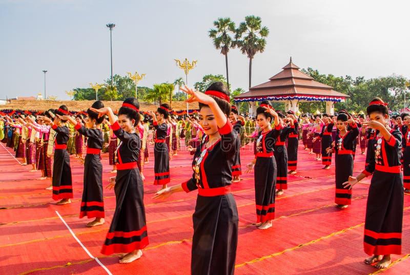 Représentation thaïlandaise de danse image libre de droits