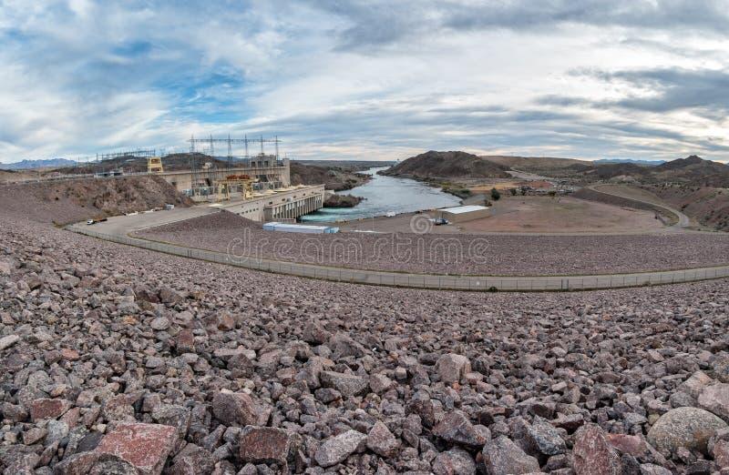 Represa de Davis no rio de Colorado fotos de stock