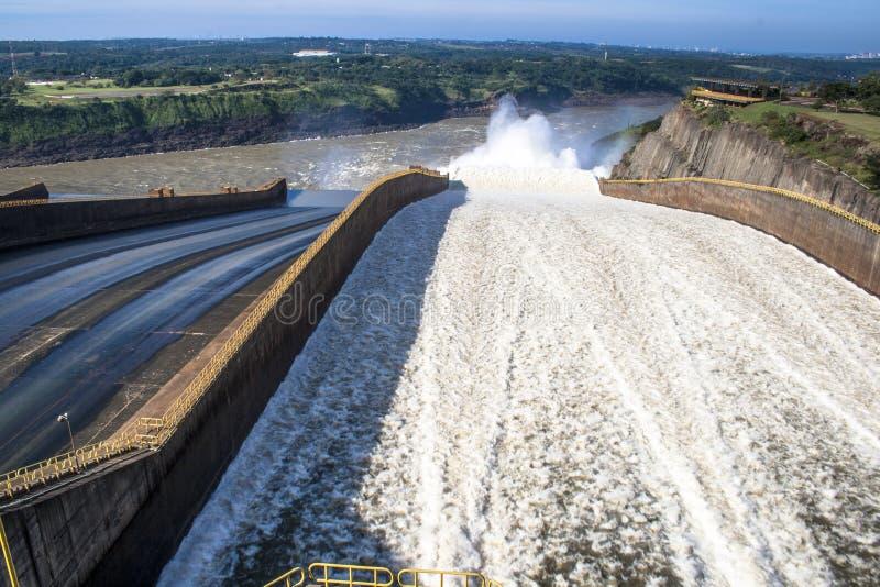 Represa de Itaipu fotografia de stock royalty free