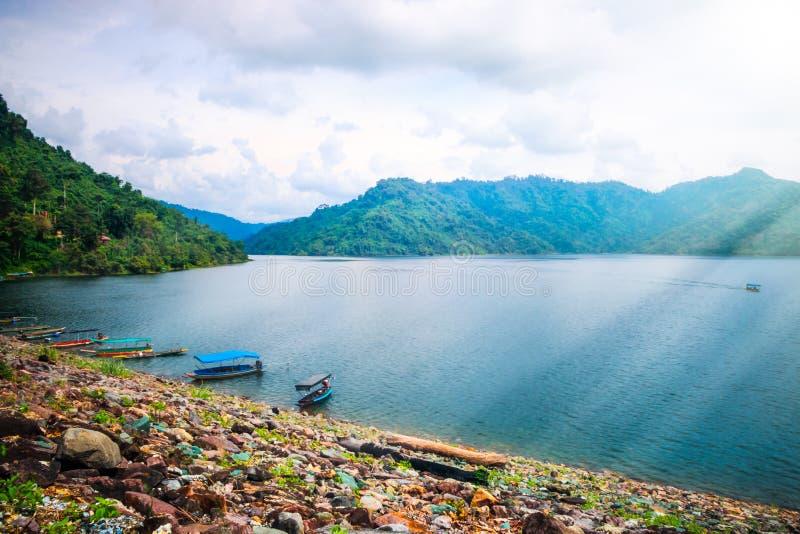 Represa de Khundanprakanchon imagens de stock