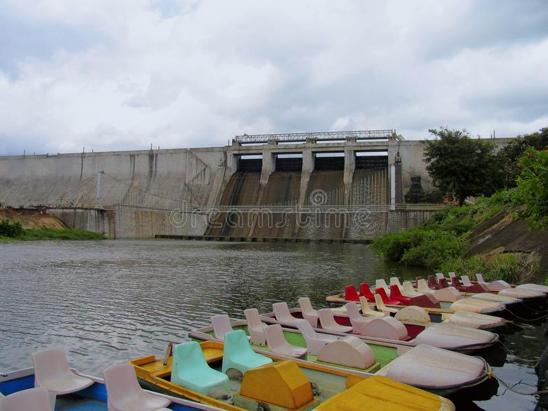 Represa de Malampuzha, Kerala, Índia foto de stock