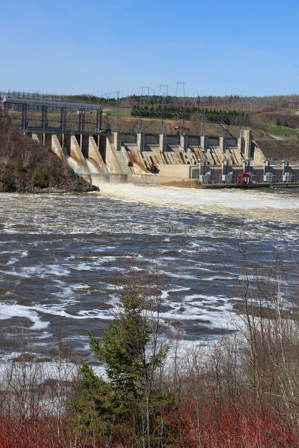 Represa de Novo Brunswick fotos de stock
