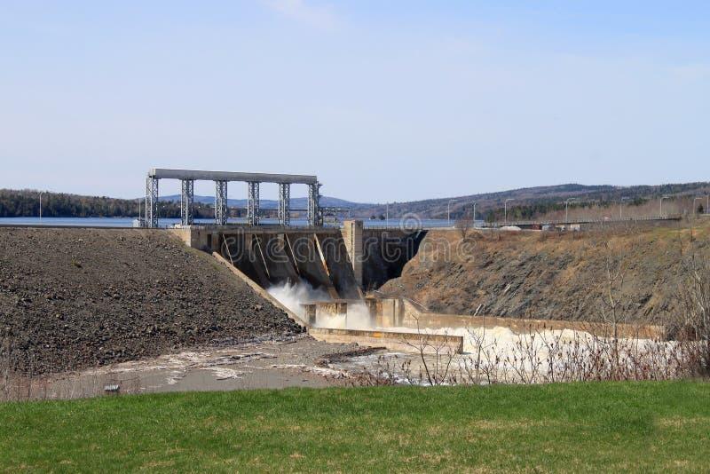 Represa de Novo Brunswick imagem de stock