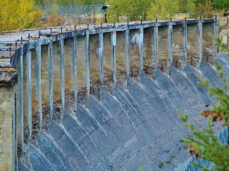 Represa de Pinawa imagens de stock