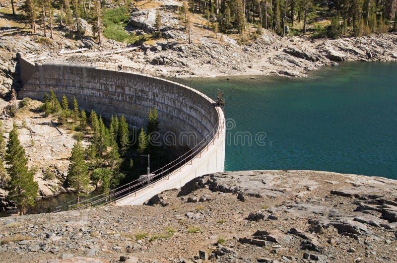 Represa do lago Waugh imagens de stock