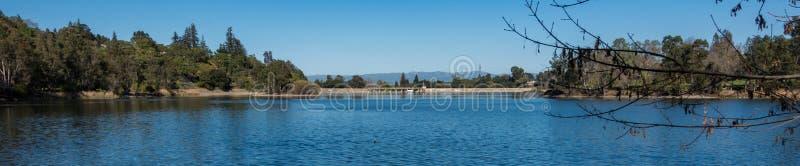 Represa e reservatório de Vasona imagens de stock