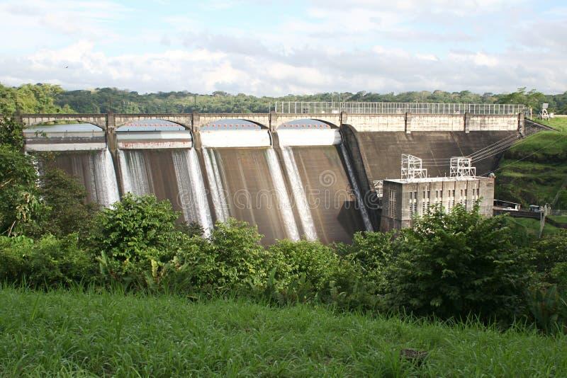 Represa em Panamá imagem de stock