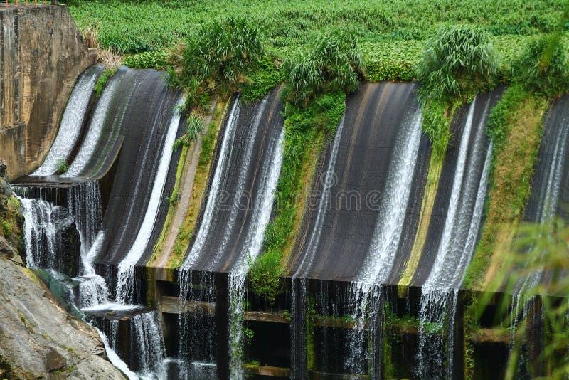 Represa Lago los angeles Plata Puerto Rico zdjęcie royalty free