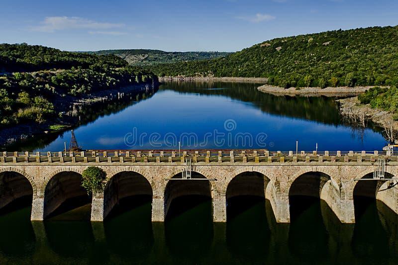 Represa Velha Fotografia de Stock