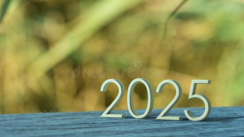 representación 2025 3d stock de ilustración