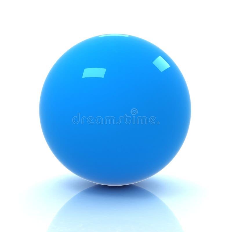 representación 3D de la esfera ilustración del vector